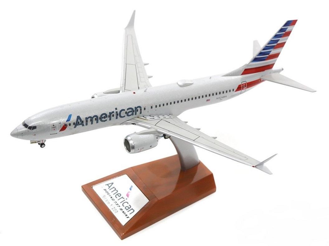 Boeing 737-8 MAX - N324RA, American Airlines 1/200