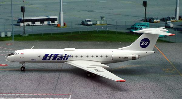 Tupolev TU-134 - RA-65127, UTair (1/200)